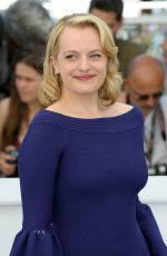 ELISABETH MOSS at Top of the Lake: China Girls Photocall at 2017 Cannes Film Festival 05/23/2017