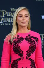 ELISABETH ROHM at Pirates of the Caribbean: Dead Men Tell no Tales Premiere in Hollywood 05/18/2017