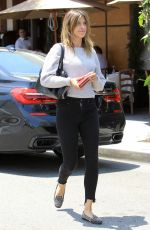 ELISABETTA CANALIS Out for Lunch in Beverly Hills 05/15/2017