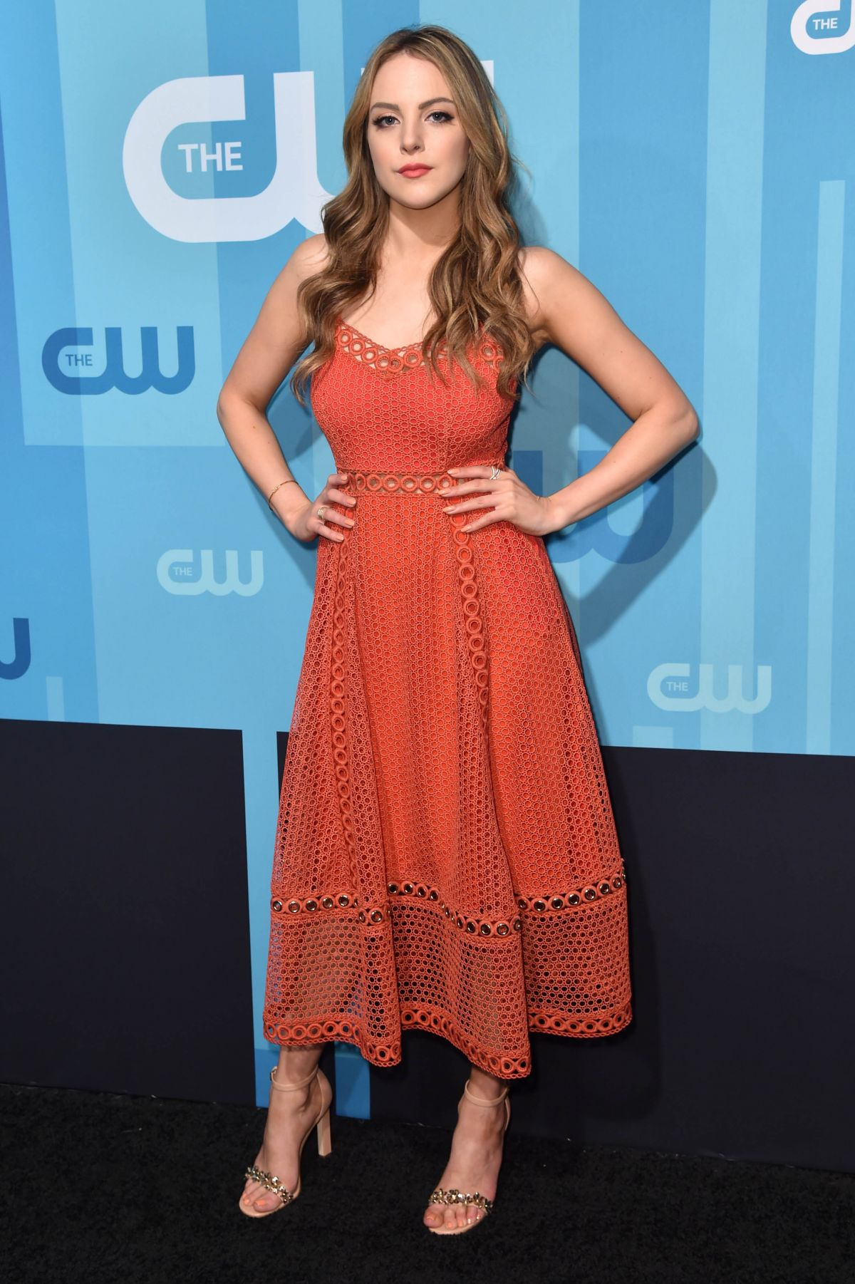 ELIZABETH GILLIES at CW Network