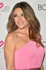 ELIZABETH HURLEY at The Hot Pink Party in New York 05/12/2017