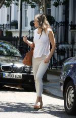 ELIZABETH HURLEY Leaves Her House in London 05/30/2017