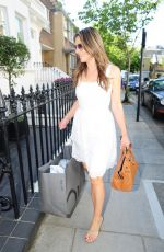 ELIZABETH HURLEY Out Shopping in London 05/25/2017