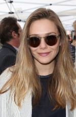 ELIZABETH OLSEN at Ken Corday Walk of Fame Ceremony in Hollywood 05/15/2017