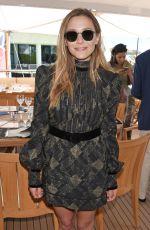 ELIZABETH OLSEN at Lexus Wind River Lunch at 2017 Cannes Film Festival 05/20/2017