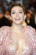 ELIZABETH OLSEN at Wind River Premiere at 70th Annual Cannes Film Festival 05/20/2017