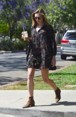 ELIZABETH OLSEN Out and About in West Hollywood 05/16/2017
