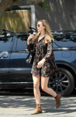 ELIZABETH OLSEN Out Shopping in Los Angeles 05/16/2017