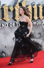 ELLA HUNT at King Arthur: Legend of the Sword Premiere in London 05/10/2017