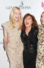ELLE FANNING at 3 Generations Screening in New York 04/30/2017