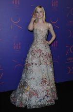 ELLE FANNING at Cannes Film Festival 70th Anniversary Dinner 05/23/2017