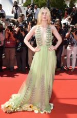 ELLE FANNING at How to Talk to Girls at Parties Premiere at 70th Annual Cannes Film Festival 05/21/2017