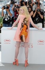 ELLE FANNING at How to Talk to Girls at Photocall at 2017 Cannes Film Festival 05/21/2017
