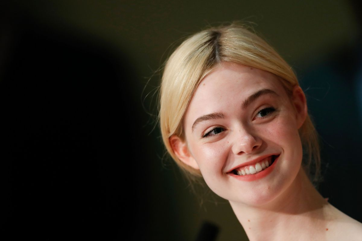 ELLE FANNING at The Beguiled Press Conference at 2017 Cannes Film Festival 05/24/2017