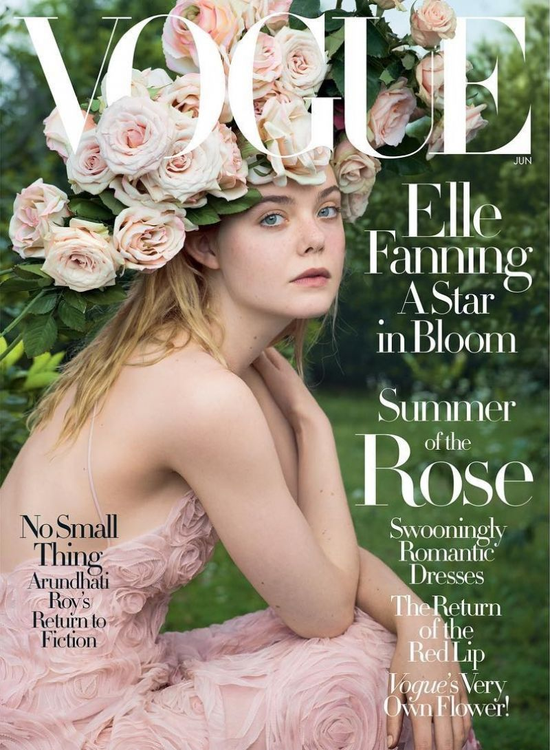 ELLE FANNING in Vogue Magazine, June 2017