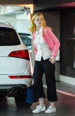 ELLE FANNING Out and About in Los Angeles 05/31/2017