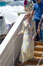 ELLE FANNING Out in Cannes 05/19/2017