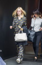 ELLE FANNING Out in New York 03/05/2017