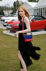 ELLIE BAMBER at Audi Polo Challenge at Coworth Park in Ascot 06/06/2017