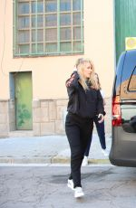 ELLIE GOULDING Out and About in Barcelona 05/15/2017