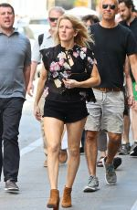 ELLIE GOULDING Out and About in New York 05/23/2017