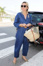 ELODIE BOUCHEZ at Airport in Nice 05/29/2017