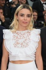 ELODIE BOUCHEZ at The Killing of a Sacred Deer Premiere at 70th Annual Cannes Film Festival 05/22/2017