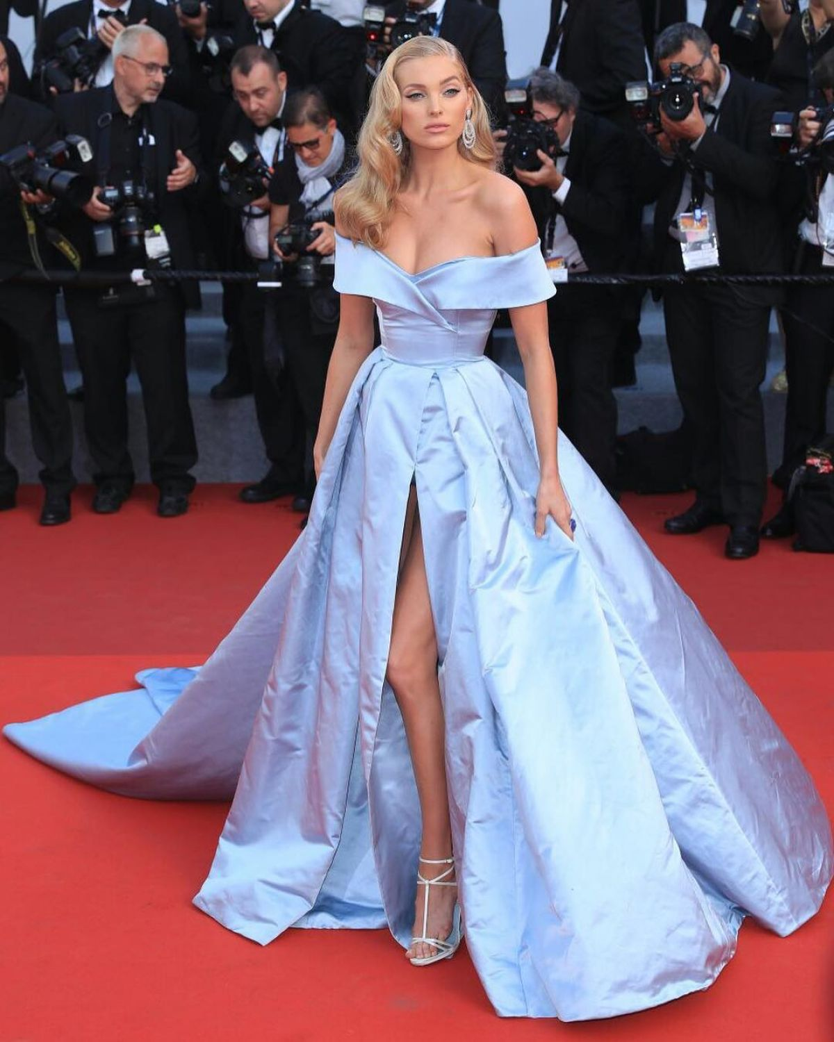 ELSA HOSK at The Beguiled Premiere at 70th Annual Cannes Film Festival 05/24/2017