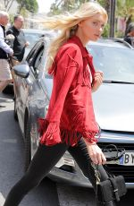ELSA HOSK Out and About in Cannes 05/24/2017