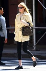 ELSA HOSK Out and About in New York 05/09/2017