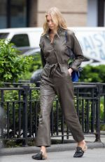 ELSA HOSK Out and About in New York 05/12/2017