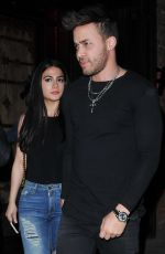 EMERAUDE TOUBIA and Prince Royce at Tao in Los Angeles 05/11/2017