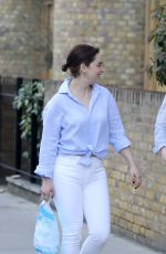 EMILIA CLARKE Out and About in London 05/12/2017
