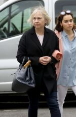 EMILIA CLARKE Out and About in London 05/18/2017
