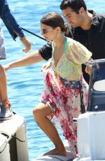 EMILY RATAJKOWSKI Arrives at Hotel Eden Roc in Cannes 05/17/2017