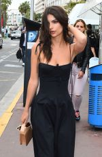 EMILY RATAJKOWSKI Out and About in Cannes 05/18/2017