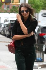 EMILY RATAJKOWSKI Out and About in New York 05/07/2017