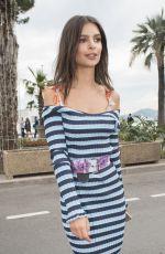EMILY RATAJKOWSKI Out at 70th Annual Cannes Film Festival 05/18/2017