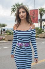 EMILY RATAJKOWSKI Out at 70th Annual Cannes Film Festival 05/18/2017