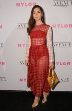 EMILY ROBINSON at Nylon Young Hollywood May Issue Party in Los Angeles 05/02/2017