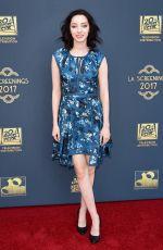 EMMA DUMONT at Twentieth Century Fox Television LA Screening Gala 05/25/2017