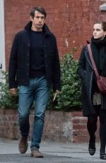 EMMA WATSON and William Mack Knight Out in New York 05/25/2017