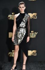 EMMA WATSON at 2017 MTV Movie & TV Awards in Los Angeles 05/07/2017