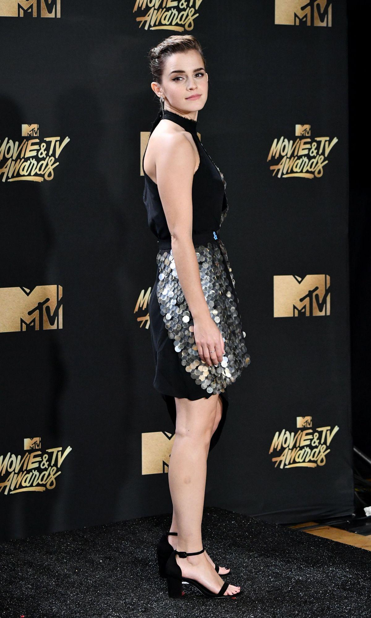 EMMA WATSON at 2017 MTV Movie & TV Awards in Los Angeles ...
