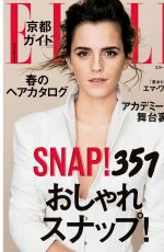 EMMA WATSON in Elle Magazine, Japan May 2017