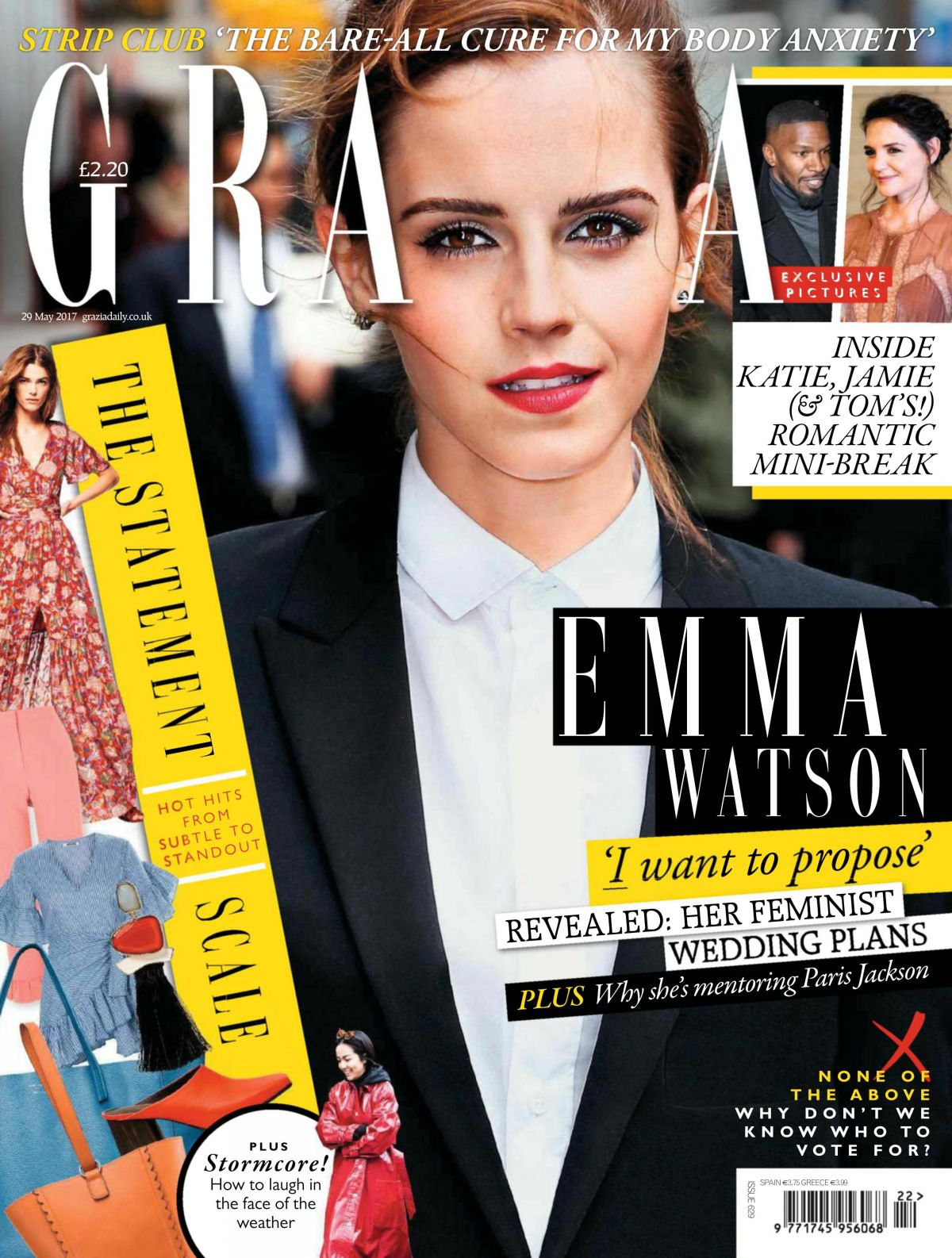 EMMA WATSON in Grazia Magazine, May 2017