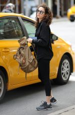 EMMY ROSSUM Out and About in New York 05/24/2017
