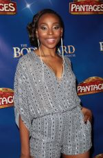 ERICA ASH at The Bodyguard Opening Night in Los Angeles 05/02/2017