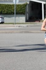 ERIKA JORDAN in Cut-off Out in Los Angeles 05/15/2017