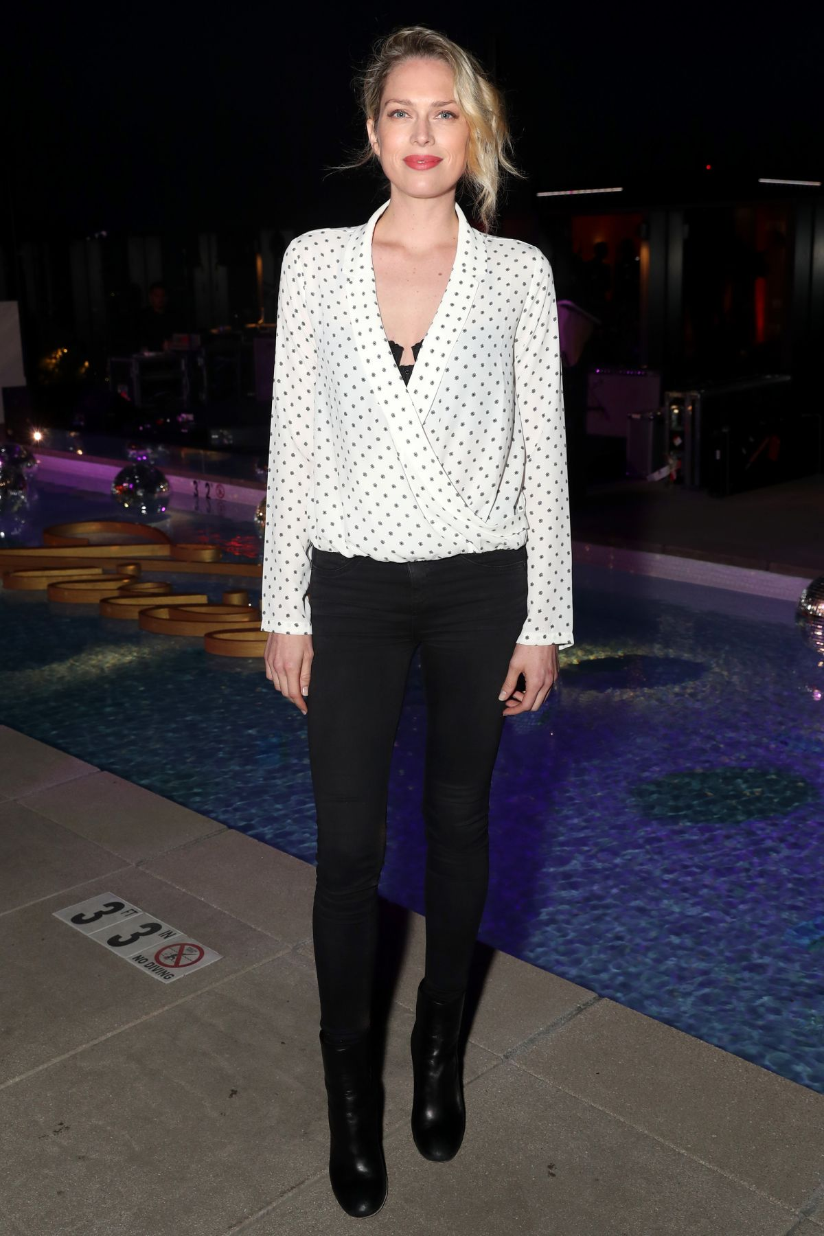 ERIN FOSTER at Roger Vivier Event in Los Angeles 05/04/2017